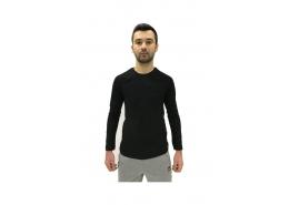 Siyah Uzun Kollu Erkek Penye (065856-900)