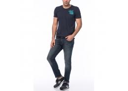 Marcus Kullanılmış Cool Mavi Amerika Pantolon (0035117727)