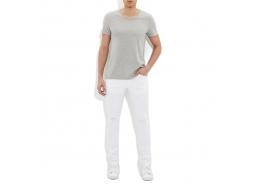 James Yırtıklı Comfort Erkek Beyaz Jean Pantolon