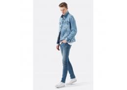 James 90S Comfort Erkek Mavi Kot Pantolon