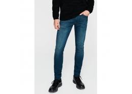 Leo Mavi Black Erkek Jean Pantolon (0076228178)