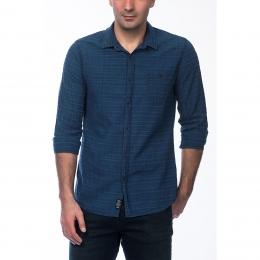 Erkek Mavi İndigo Gömlek (020514-18790)