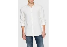 Mavi Jeans Uzun Kollu Açık Sarı Erkek Gömlek