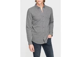 Mavi Jeans Uzun Kollu Gri Erkek Gömlek