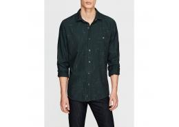 Uzun Kollu Gömlek Açık Çam Yeşili