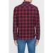 Kareli Gömlek Yanık Kırmızı