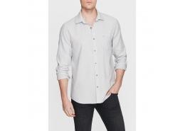 Mavi Jeans Erkek Tek Cepli Gri Gömlek