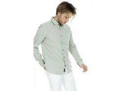 Mavi Jeans Tek Cepli Erkek Açık Yeşil Gömlek