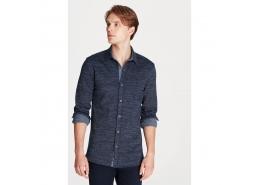 Mavi Jeans Erkek Lacivert Örme Gömlek