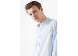 Uzun Kol Gömlek Açık Mavi