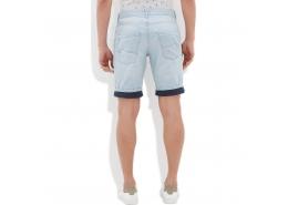 Mavi Jeans Erkek Paça Katlamalı Mavi Şort