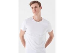 Mavi Jeans Erkek Beyaz Basic Tişört