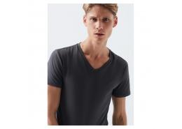Mavi Jeans V Yaka Streç Gri Erkek Basic Tişört