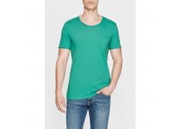 Mavi Erkek Çam Yeşili Basic Günlük Tişört