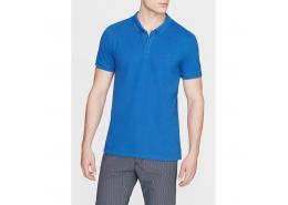 Polo Yaka Erkek Parlak Mavi Tişört (063247-28724)