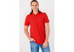 Polo Tişört Biber Kırmızı