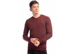Erkek Derin Bordo Sweatshirt (063886-27312)