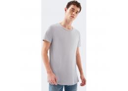 Mavi Jeans Erkek Açık Gri Basic Tişört