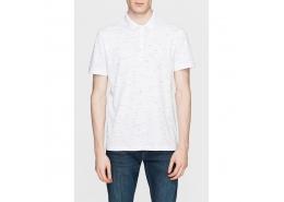 Polo Yaka Erkek Beyaz Tişört (064695-23248)