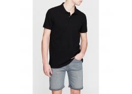 Erkek Siyah Polo Tişört (064946-21842)