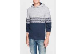 Kapişonlu Erkek Lacivert Sweatshirt (065045-26828)
