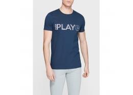 Mavi Jeans Play Baskılı Mavi Erkek Tişört