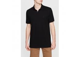 Polo Yaka Erkek Siyah Tişört (065532-900)