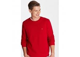 Kapüşonsuz Erkek Kırmızı Sweatshirt (065751-29781)