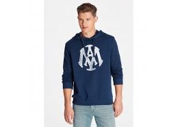Mühür Logo Baskılı Lacivert Sweatshirt (065753-29743)