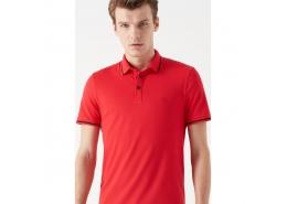 Polo Yaka Erkek Kırmızı Tişört (065967-30648)