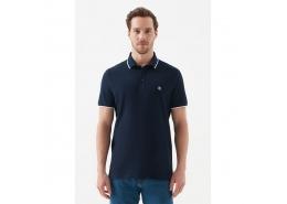 Erkek Polo Yaka Lacivert Tişört (066039-30651)