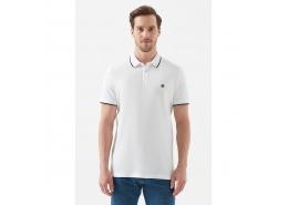 Polo Yaka Erkek Beyaz Tişört (066039-620)