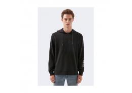 Logo Baskılı Black Pro Siyah Sweatshirt (066639-900)