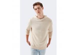 Black Pro Erkek Bej Sweatshirt (066642-30749)