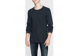 Mavi Jeans Erkek Siyah Triko Kazak