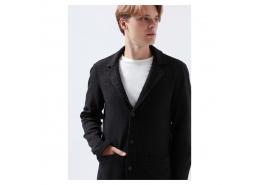 Erkek Siyah Triko Blazer Ceket (070699-900)