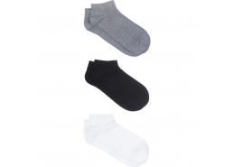 Üçlü Paket Çorap Siyah