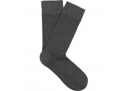Mavi Jeans Düz Siyah Uzun Soket Çorap