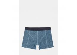 Mavi Jeans Geometrik Desenli Mavi Boxer