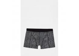 Mavi Jeans Geometrik Desenli Siyah Boxer