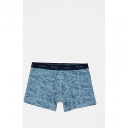 Mavi Jeans Kamuflaj Desenli Mavi Boxer