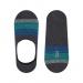 Mavi Çizgili Antrasit Erkek Babet Çorap