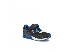 Largo Çocuk Siyah Mavi Sneaker Ayakkabı