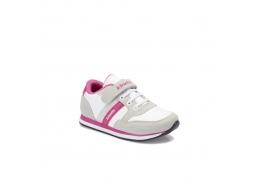 Payof Pu Gri Beyaz Çocuk Ayakkabısı