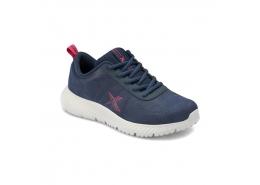 Nuper Pu Mavi Kadın Yürüyüş Ayakkabısı