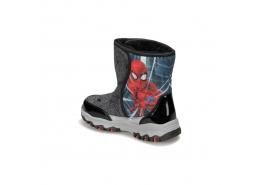 Spiderman 92.Alban.P Çocuk Siyah Kar Botu (100406201)