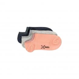 Aspen Kadın 3'lü Somon Patik Çorap