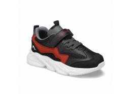 Race Siyah Erkek Çocuk Yürüyüş Ayakkabısı