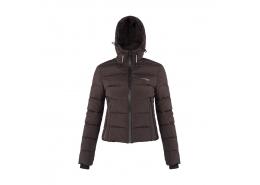 Apreski Coat Kadın Siyah Kaban