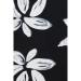 Mavi Jeans Çiçek Desenli Siyah Tulum